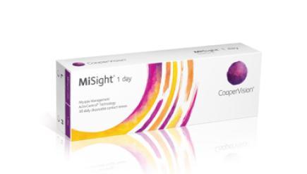 Einführung von MiSight(R) 1-Tages-Kontaktlinsen mit ActivControl(R)-Technologie