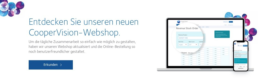 CooperVision Webshop